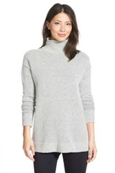 Halogen Mock Turtleneck Sweater Regular And Petite Gray