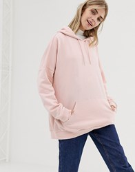 Monki Hoodie Dusty Orange