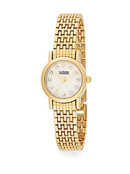 Catherine Malandrino Goldtone Bracelet Watch