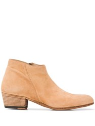 Pantanetti Suede Ankle Boots Neutrals