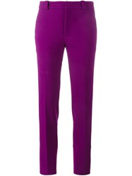 Roland Mouret Straight Leg Trousers Pink And Purple
