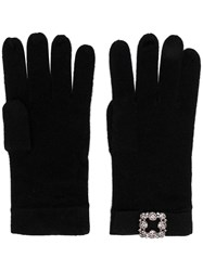Max And Moi Classic Gloves Black