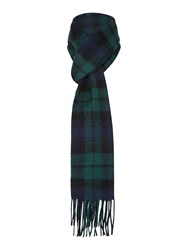 Gloverall Lambswool Scarf Navy