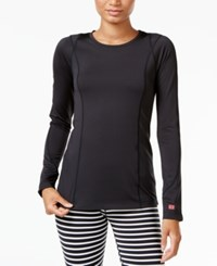 Tommy Hilfiger Sport Long Sleeve Top A Macy's Exclusive Style Black