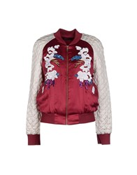 Antik Batik Coats And Jackets Jackets Women Maroon