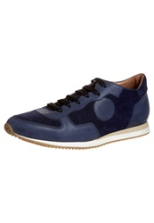 Kiomi The Everyday Leather Sneaker Trainers Lago Blu Blue