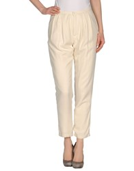 Girl By Band Of Outsiders Casual Pants Ivory