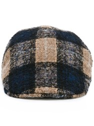 Tagliatore 'Phil' Newsboy Cap Brown