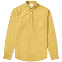 Portuguese Flannel Button Down Belavista Oxford Shirt Yellow
