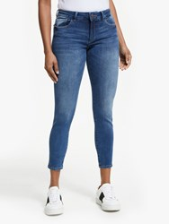 Dl1961 Florence Mid Rise Cropped Skinny Jeans Salerno