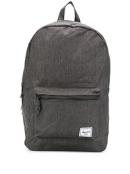 Herschel Supply Co. Settlement Logo Patch Backpack Black