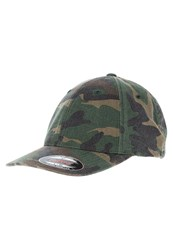 Flexfit Cap Green Camo