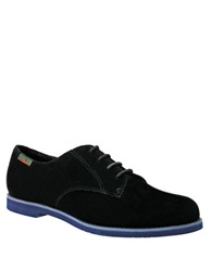 Bass Ely 2 Suede Oxfords Black