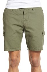 Men's Rhythm 'The Outpost' Canvas Cargo Shorts