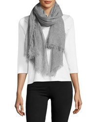 Lord And Taylor Cashmere Fringe Scarf Blush