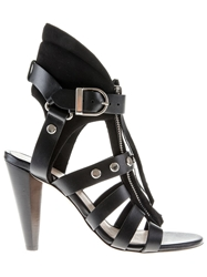 Iro 'Xilly' Strappy Sandals Black