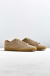 Fred Perry Spencer Suede Crepe Sole Sneaker Tan