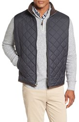 Peter Millar Men's 'Hudson' Lightweight Quilted Vest Black