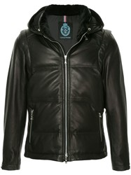 Guild Prime Hooded Lambskin Jacket Black