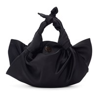 The Row Black Small 'The Ascot' Bag