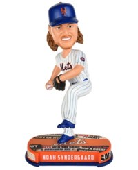 Forever Collectibles Noah Syndergaard New York Mets Headline Bobblehead Blue