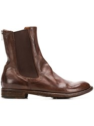 Officine Creative Lexikon Chelsea Boots Brown