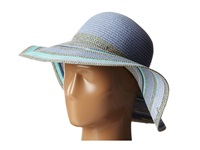 Bcbgeneration Mixed Stripe Floppy Seaside Traditional Hats Blue