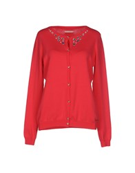 Maison Espin Knitwear Cardigans Women Coral