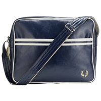 Fred Perry Classic Shoulder Bag Navy Ecru