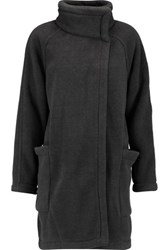 James Perse Fleece Coat Charcoal