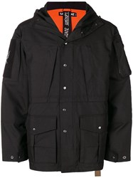 Sankuanz Hooded Coat Black