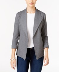 Styleandco. Style Co. Knit Blazer Only At Macy's Steel Grey