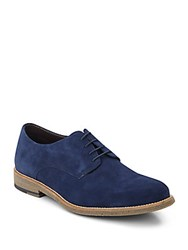 Saks Fifth Avenue Cooper Suede Oxfords Indigo