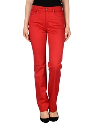 Roccobarocco Casual Pants Red
