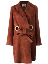 Stine Goya Alva Coat Brown