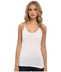 Candc California Classic Tank Top White Women's Clothing