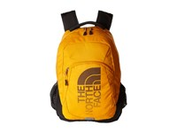 The North Face Haystack Radiant Yellow Asphalt Grey Backpack Bags