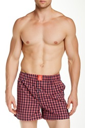 Psycho Bunny Woven Boxer Red