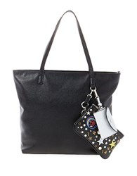 Steve Madden Bjoslyn Zippered Tote Bag Black