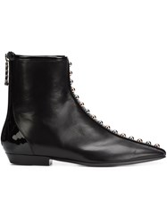 J.W.Anderson Spike Studded Boots Black