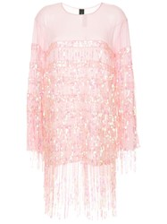 Romance Was Born Angel Dribble Top Pink