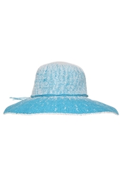Anna Field Hat White Turquoise