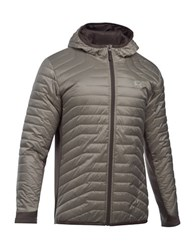 Under Armour Cold Gear Reactor Hybrid Jacket Stoneleigh Taupe