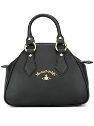 Vivienne Westwood Anglomania 'Saffiano' Tote Black
