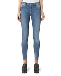 Allsaints Grace Jeans In Fresh Blue