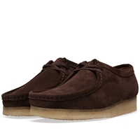 Clarks Originals Wallabee Dark Brown Suede