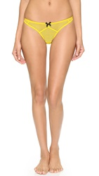 Agent Provocateur Carla Thong Yellow