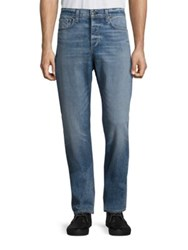 Rag And Bone Acid Wash Slim Fit Jeans Acid Blue