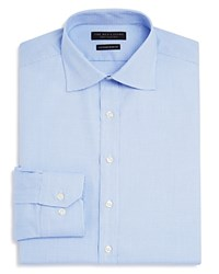 Bloomingdale's The Men's Store At Royal Oxford Regular Fit Basic Dress Shirt Blue