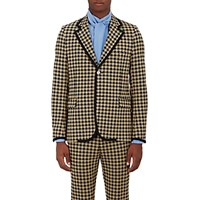 Gucci Men's Houndstooth Two Button Sportcoat No Color